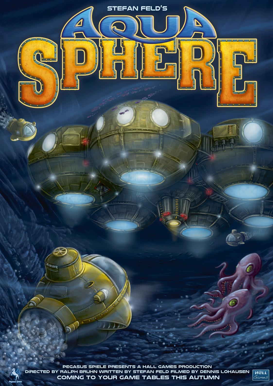 Aquasphere Poster Front